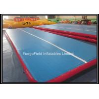 Buy cheap Custom Tumble Track Inflatable Air Mat for Gym 0.9mm PVC Tarpaulin from wholesalers