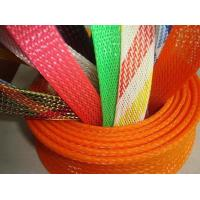 Buy cheap Promotional PET Expandable nylon mesh cable sleeve RoHS UL Certificate from wholesalers