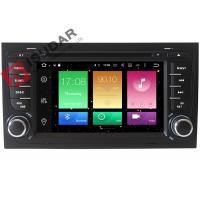 Buy cheap Octa Core 64bit Processor 2 Din Car Dvd Player Audi A4 Head Unit Supports 4K from wholesalers