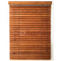 Buy cheap WOODEN BLIND WOOD VENETIAN BLIND 55MM BASSWOOD SLATS from wholesalers