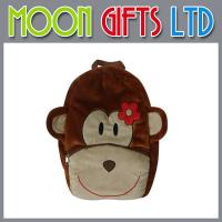 Buy cheap Hot sale kids backpack toy bag plush monkey bag from wholesalers