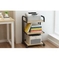Buy cheap Office Desktop File Storage Racks Double Deck Rack Can Mobile For Copier from wholesalers