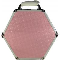 Buy cheap NEW Pink Hexagon Aluminum Carry Case for Cosmetics/Jewelry/Accessories/Games from wholesalers