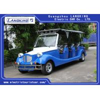 Buy cheap 11 Seaters Classic Electric Vintage Cars With Cover / Safety Zipper For Hotel / Parks from wholesalers