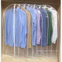 Buy cheap See-through PVC Dust-Proof Garment Bags, Personalized Household Garment Hanging Bags from wholesalers