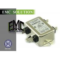 Buy cheap 110v 220v One Phase EMI Filter Noise Filter Fast Chassis Mounting from wholesalers