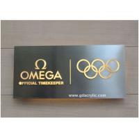 Buy cheap 304 Stainless Steel Signs Back Illuminated Signs , Free Design from wholesalers