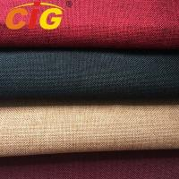 Buy cheap 300Gsm Weight Line 100% Polyester Upholstery Fabric For Sofa Seat Cover product