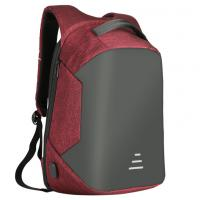 Buy cheap Waterproof Students Work Daypack Anti-theft Travel Backpack Business Laptop School Book Bag with USB Charging Port from wholesalers
