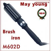 Buy cheap 2013 new design electrical hot hair curling brush iron M602D from wholesalers