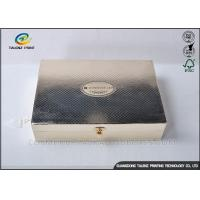 Buy cheap Luxury Golden Paper Cosmetic Box , Foil Stamping Art Paper Box For Valentines from wholesalers