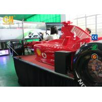 Buy cheap 360 Degree Driving Hydraulic Racing SimulatorWith Triple Screens 1 Year Warranty product