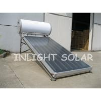 Buy cheap 100L Non Pressure Flat Plate Solar Collector Black Chrome Coating Absorber from wholesalers