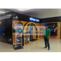 Buy cheap Shopping Mall 7d Simulator Cinema , Snow / Windy Effects And Motion Chairs product