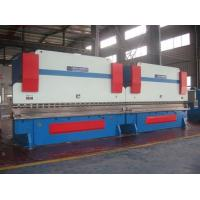Buy cheap Two Huge Sheet Metal Bending Machine Hydraulic System Light Pole Synchronization CNC Control from wholesalers