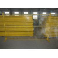 Buy cheap Welded Wire Fence Canada Temporary Fencing 7FT X 8FT Width 30MM X 1.5mm Frame Side Tube from wholesalers