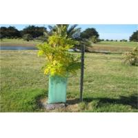 Buy cheap Light Green Corrugated Plastic Tree Guards UV Resistant For Protection Green from wholesalers