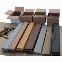 Wpc decking board with colorful wood grain 97611399 for Cheap decking boards for sale