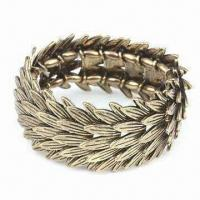 Buy cheap Diamond Bracelet, Made of Plastic Drilling and Elastic Cord, Various Colors are Available from wholesalers