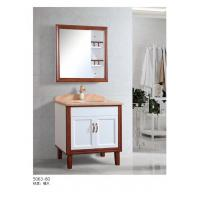 Buy cheap Small Single Sink Solid Wood Bathroom Vanity , Bathroom Vanities For Small Bathrooms from wholesalers