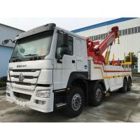 Buy cheap Howo 8X4 371HP Heavy Duty Tow Truck , Broken Cars Recovery Tow Truck from wholesalers