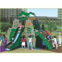 Buy cheap Coconut island type out door playground with slide and climbing function for kids from wholesalers