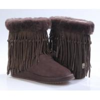 Buy cheap Chocolate 5835 uggfullboots , authentic sheepskin lady boots, winter boots with fringe, fashion shoes for winter from wholesalers