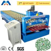 Buy cheap Steel Plate Corrugated Roll Forming Machine Mitsubishi PLC Roll Former from wholesalers