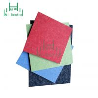 China Acoustic Fiber Board Felt Panels For Walls Polyester Fiber Acoustic Wall Panel on sale
