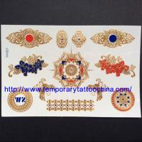 Buy cheap 3D temporary tattoo china supplier gold foil tattoo from wholesalers