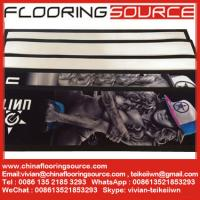 Buy cheap Rubber Bar Runner nitrile rubber base polyester top Beer Runners Mats from wholesalers