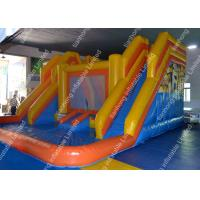 Buy cheap Huge Inflatable little tikes Water Slides / Backyard water slide from wholesalers