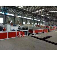 Buy cheap PVC Hollow Wall Board Manufacturing Machine, CPVC Laminating Ceiling Panel Making Machinery from wholesalers