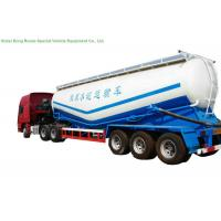 Buy cheap V Type Cement Hauling Trailers With Diesel Engine For Dry Powder Meterial 60 - 65 M3 from wholesalers