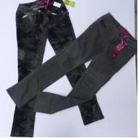 Buy cheap American in stock women's clothes Brand lady's skinny jeans Slim fitting pant stocks for sell ,2designs, full size from wholesalers