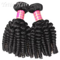 Buy cheap No Shedding No Tangle Brazilian 6A Virgin  Hair Extensions Africa Curl  Weave from Wholesalers