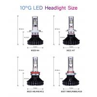 Car accessories Automotive led light bulbs h4 h7 car led headlight
