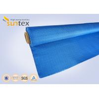 Buy cheap Colored Glass Fiber Fire Curtain Fabric For Meeting Hall Fire Door from wholesalers