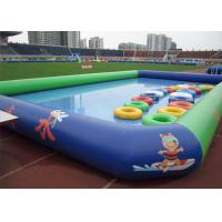 Buy cheap Cute Logo Printing Air Sealed Swimming Pool For Kid / Kids Swim Pools For Fun from wholesalers