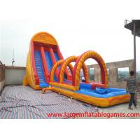 Buy cheap EN14960 colorful gaint Commercial inflatable slide for kids / water slide bouncer inflatable for rental from wholesalers