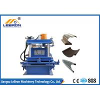 Buy cheap Semi Circle Mobile Gutter Machine 70mm Shaft Diameter For Color Steel Coil Material from wholesalers