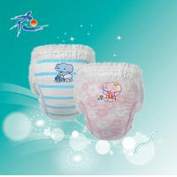 Buy cheap Disposable Printed OEM Baby Diaper Pull Ups from wholesalers