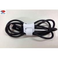 Buy cheap White Wire Bundle Belt adjustable cable ties / Back to Back Tape industrial strength from wholesalers