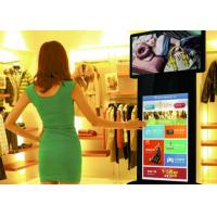 Buy cheap 58 inch color standing led tv display coffee machine , digital advertising display screens from wholesalers