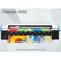 China Flex Outdoor Wide Format Color Printer Double 4 Color 3200mm Challenger 3208Q on sale