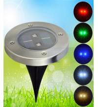 Buy cheap New design 2pcs brightness led solar ground light,outdoor waterproof solar deck light from wholesalers