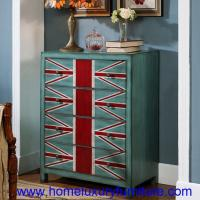 Buy cheap 4 Drawers chest modern painted decoration cabinet corner table sideboard  JY-938 from wholesalers
