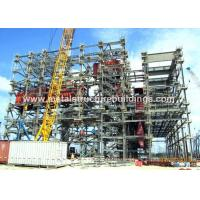 Buy cheap Precision Metal Prefabricated Steel Structures Mild Steel Fabrication For Industrial Fields from wholesalers