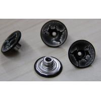 Buy cheap Matt Custom Clothing Buttons Embossed , Silver Garment Buttons from wholesalers