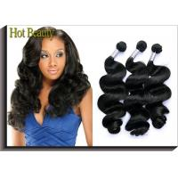 Buy cheap Hot Beauty Peruvian Natural Wave Virgin Human Hair Extensions For Women from wholesalers